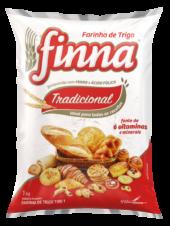 Finna wheat flour type 1, plastic packaging